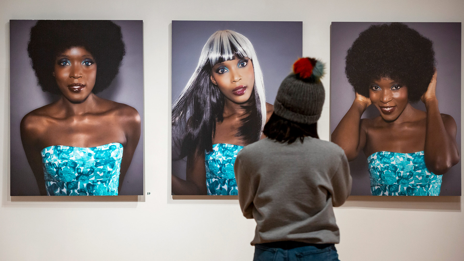 "The touring exhibition ""Posing Beauty in African American Culture"" features approximately 85 works by artists such as Carrie Mae Weems, Charles ""Teenie"" Harris, Eve Arnold and Gary Winogrand. (Photo by Stephanie S. Cordle)"